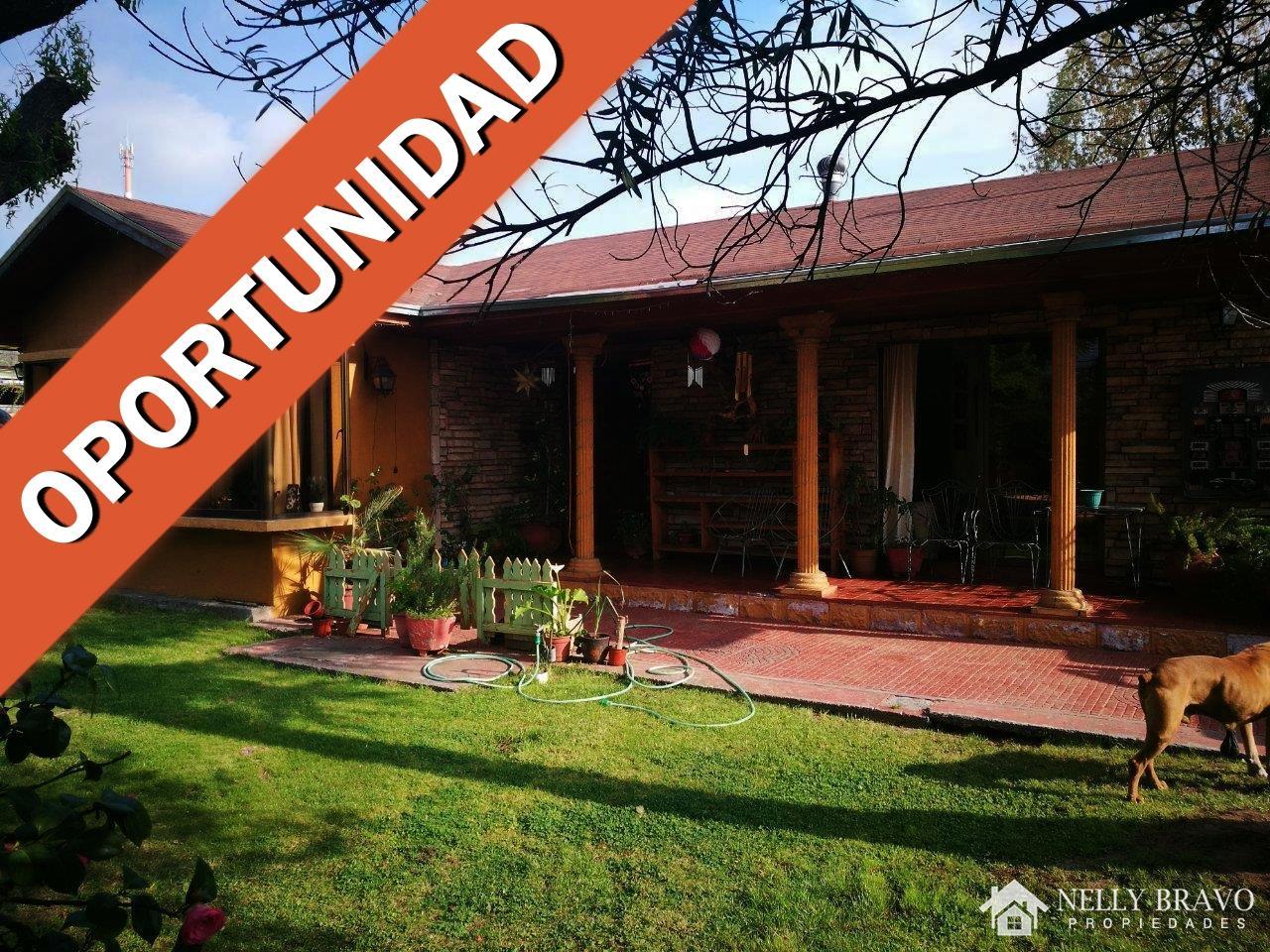 Se vende Terreno con casa en Centro de Machali, Machali